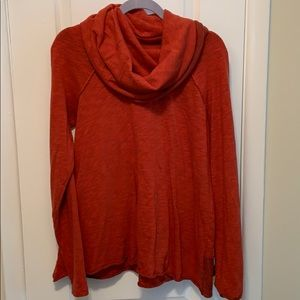 Free people jersey cowl neck